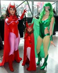 P1120685 (Randsom) Tags: nyc newyorkcity newyork costume cosplay xmen convention heroine superhero comicbooks mutant marvel marvelcomics avengers polaris javits 2014 scarletwitch xforce nycc superheroine newyorkcomiccon october2014 nycc2014 newyorkcomiccon2014