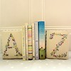 "Floral Alphabet Bookends • <a style=""font-size:0.8em;"" href=""http://www.flickr.com/photos/29905958@N04/15610194242/"" target=""_blank"">View on Flickr</a>"
