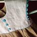 Geranium dress in linen (close up)