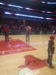 """Chad Martin Shoots a Free Throw at the United Center • <a style=""""font-size:0.8em;"""" href=""""http://www.flickr.com/photos/109120354@N07/15637883645/"""" target=""""_blank"""">View on Flickr</a>"""