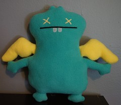 Uglydoll Prototype Sample - Dream Babo Midling (jcwage) Tags: giantrobot ceramic prototype uglydoll rare uglydolls icebat babo sdcc wage horvath wedgehead davidhorvath sunmin trunko uglycon powerbabo dreambabo