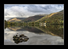 Lake District, Cumbria, UK (Joseph Molinari) Tags: uk inglaterra trees england naturaleza lake nature water reflections unitedkingdom lakes lakedistrict cumbria