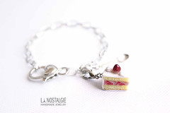Miniature strawberry cake silver charm bracelet realistic dessert food art handmade in france by la nostalgie (www.lanostalgiejewelry.com) Tags: christmas food holiday art love cakes colors beautiful smile cake shopping de dessert fun happy japanese death for la fan miniature strawberry women flickr december girly unique femme great fake style jewelry it bijoux best her desserts salinas jewellery note delicious trends gifts clay gift kawaii online bracelet buy accessories bracelets elegant items nol now mode pour aux cutest filles mariana gateau nostalgie stylish cadeau 2014 polymer fraises 2015 polymre pte trending