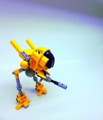 Stinger X2 (SuperHardcoreDave) Tags: lego fantasy weapon future scifi mecha mech moc drone