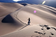 Great Sand Dunes National Park (sessions_mark) Tags: nationalpark sand colorado dunes footprints