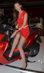 Eicma 2014 Model (416) (Pier Romano) Tags: woman sexy girl beautiful model legs milano babe salone moto motorcycle belle donne hostess bella bellezza fiera gambe ciclo esposizione rho 2014 ragazze modelle eicma
