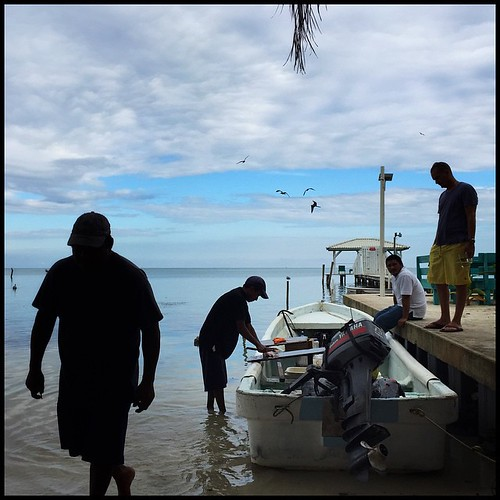 Fishermen II. Caye Caulker, Belize. November 9, 2014.