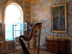 Salon aux perdrix du palais de Peterhof à Saint-Pétersbourg