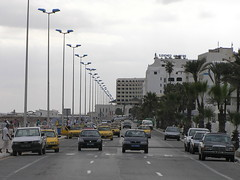 Sousse Traffic (J_Piks) Tags: road cars traffic sousse tunisia tunisie taxis lampposts streetlights streetlighting