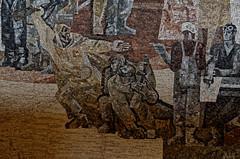 _DSC0034_cw (Wylf) Tags: soviet urss mozaika mosaic urbex cold war youri gagarine ussr hero urbexu history old