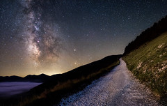 The road to the Milky Way. (JackTorva) Tags: milkyway vialattea castellucciodinorcia astronomia italy astronomy ngc nature night samyang 14mm skywatcher staradventurer canon 400d