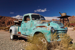 Seen better days 2 (explored Feb 2017) (another_scotsman) Tags: nevada nelson ghosttown auto derelict truck landscape greatphotographers greaterphotographers