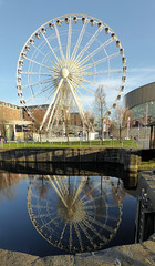 Wheel of Liverpool (neuphin) Tags: liverpool wheel ferris reflection dukesdock water