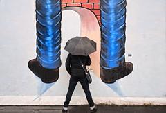 berlin wall (poludziber1) Tags: city colorful cityscape capital color colorfull street streetphotography graffitti blue berlin people urban travel umbrella
