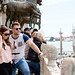 Turist couple in Venice, Italy (Piazza San Marco plaza/Saint Mark's Basilica)