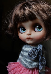 Iriscustom Ooak Custom Blythe Art doll