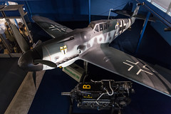 National Air and Space Museum (Moody Man) Tags: air space museum dc airplane 2017 170331 messerschmitt bf 109 ww2 usa america