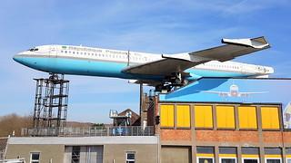 Boeing B707-321 c/n 18084 Benin Government preserved in Wetteren, Belgium