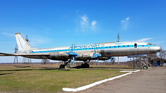 Tupolev Tu.114 c/n 63M461 Aeroflot registration CCCP-76485 (Erwin's photo's) Tags: tupolev tu114 cn 63m461 aeroflot registration cccp76485 tu 114 soviet union aircraft propliner 50s museum aviation krivyi rih krivoj rog kriviy rig ukraine university preserved