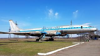 Tupolev Tu.114 c/n 63M461 Aeroflot registration CCCP-76485