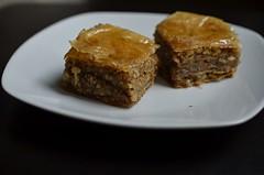 Day 66 - Baklava (sjlara) Tags: greek mediterranean baklava phyllo baking sweets desserts food
