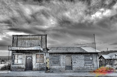 The Outpost, Darwin, CA (amohanlal) Tags: ghosttown ghost town abandoned history roadside road ontheroad darwin california theoutpost outpost deathvalley death valley desert village mines postoffice postal sky hdr ca