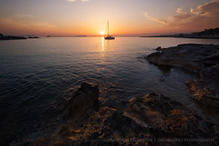 Somewhere we only know (in Explore 20/04/17) (el vuelo del escorpión) Tags: ibiza island balearicislands spain spring sunset dusk golden hour sea mediterranean yellow orange peaceful quiet relax relaxation boat sailing red landscape fuji 1024 xe2