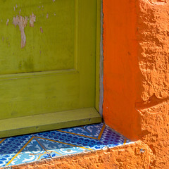 5 ... essentiality of the Aeolian Islands! (antonioprincipato) Tags: porta maioliche colore stromboli isola eolie sicilia mediterraneo antonioprincipato door majolica colours island aeolian sicily