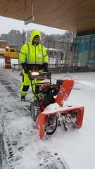Winter Storm Stella - NYC DOT Snow Removal Efforts (NYCDOT) Tags: nycdot winterstorm fordham fordhamplaza
