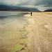'Anduve en la imposible y melancólica búsqueda de un devenir ya pasado'.. . The Miscanti lagoon walker / desierto de Atacama, Chile.. . PREMIO INTERNACIONAL DE FOTOGRAFÍA EN LA BIENAL DE FLORENCIA DE ARTE CONTEMPORÁNEO 2011, ITALIA.. . INTERNATIONAL AWARD IN FLORENCE BIENNALE OF CONTEMPORARY ART 2011, ITALY.. . EDICIÓN LIMITADA / LIMITED EDITION (10)