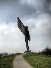 Angel of the North, Gateshead UK (neilalderney123) Tags: ©2017neilhoward angelofthenorth angeliofthenorth gormley newcastle olympus gateshead