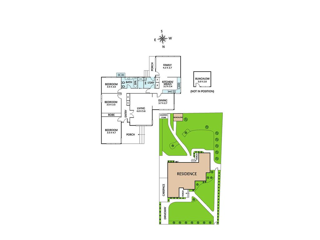 69 Mayfield Drive floorplan