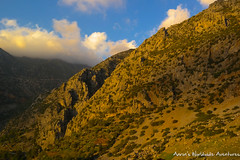 The Riff Mountains around Chefchaouen at Magic Hour (adventurousness) Tags: bluecity chefchaouenthebluepearl magichour thebluecity blue chaouen chefchaouen dusk morocco mountains travel sunset