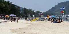 patong beach (Greg Rohan) Tags: tourists sunbathers sea sand water thailand phuket patongbeach beach photography 2017 d7200