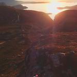 Sunset climbing in Ardmair thumbnail