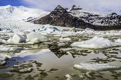 Glacial lagoon in Iceland (Travel, Art and Beyond) Tags: iceland glacier lagoon travelandart