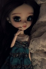 Ophélie, Pullip FC by Crystal Doll (Loony-Doll) Tags: pullip fc full custo customisée custom sculpt makeup crystaldoll wig eyechips eyelashes obitsu doll dolls groove junplanning