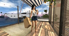 Welcome Home Cheri (pulpfictionstudio) Tags: secondlife fruitislands lumpro2017 boat sarisari moz