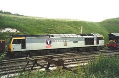 EWS Class 60 60096 'Ben Macdui' - Peak Forest (dwb transport photos) Tags: ews tug locomotive 60096 benmacdui transrail peakforest