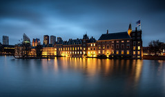 The Hague / Hofvijver 2017 (zilverbat.) Tags: denhaag longexposure bild longexposurenetherlands centrum longexposurebynight nightphotography bluehour nightshot nightlights image wallpaper bookcover vijver hofstad hofvijver zilverbat thehague thenetherlands timelife town travel visit tripadvisor architecture buildings buitenhof nederland nederlandlongexposure dutch dutchholland dramatic lights avondfotografie availablelight avond world heritage urbanvibes urban rutte vvd
