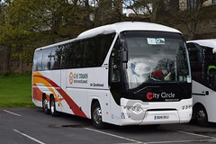 OU14SVJ  City Circle, Edinburgh (highlandreiver) Tags: ou14svj ou14 svj city circle coaches edinburgh newbridge neoplan tourliner bus coach carlisle cumbria