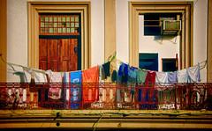 Havana Balcony 15 (Artypixall) Tags: cuba havana balcony windows clothes clotheslines facade streetscene faa getty