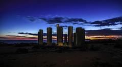 Un ocaso expectacular (ibzsierra) Tags: ibiza eivissa baleares canon 7d atardecder sunset cielo azul blue sky misticismo