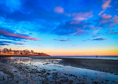 Low tide at Gulf Beach (Singing With Light) Tags: 2016 2017 26th alpha6500 ct duckpond february gulfbeach milford mirrorless singingwithlight a6500 beach downtown photography singingwithlightphotography sony sunrise winter