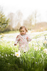 Amelia in the flowers at Leeds Castle-1 (T_J_G) Tags: leeds castle uk kent fun flowers spring daughter nikon d750 50mm prime colours beautiful