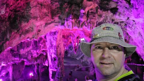 Die Tropfsteinhöhle St. Michael's Cave auf Gibraltar