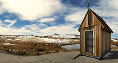 The heart is forever inexperienced… (ferpectshotz) Tags: independencepass colorado aspen cabin rustic mountainpass twinlakes