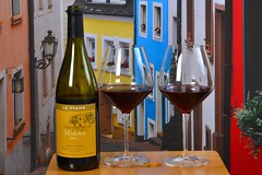 Italy meets Germany (Olli Ronimus) Tags: wine saarburg wein alps mimmo