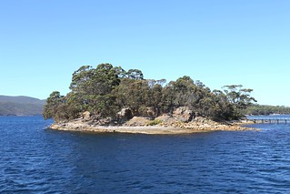 Island of the Dead, Port Arthur convict settlement, Tasmania