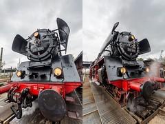 Dancing loco (bonsai59) Tags: railway eisenbahn engine locomotive lokomotive dampflok steamengine deutschland sachsen dresden igbwdresdenaltstadt 9dampfloktreffendresdenaltstadt 2017 nikond5200 drbr03
